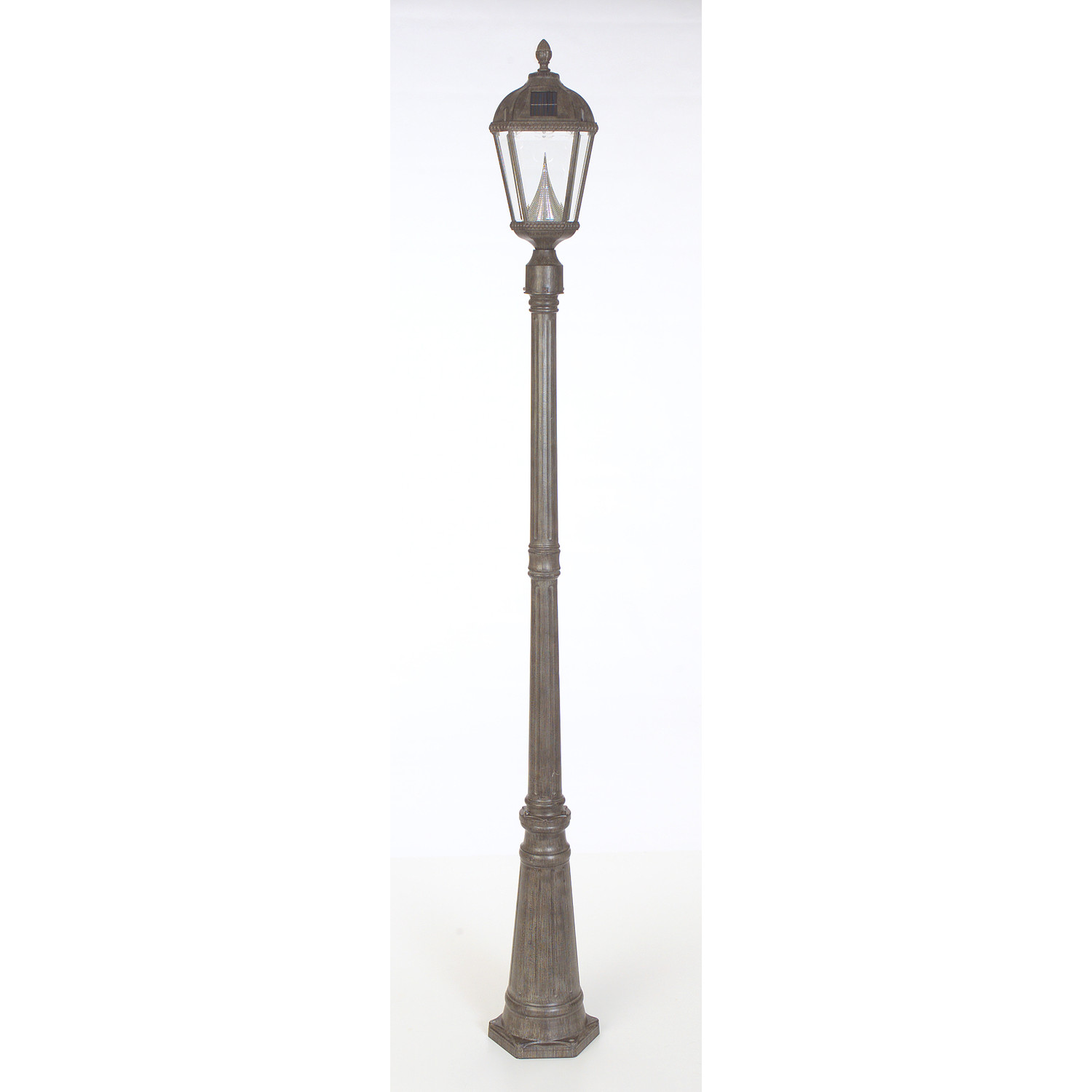 Royal Solar Lamp Post and Seven-LED Lantern