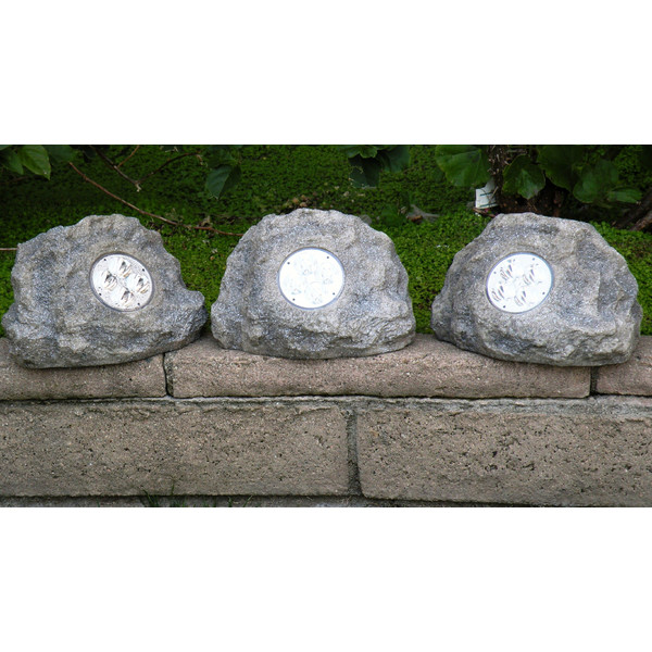 Solar Power Jumbo Rock Spot Light