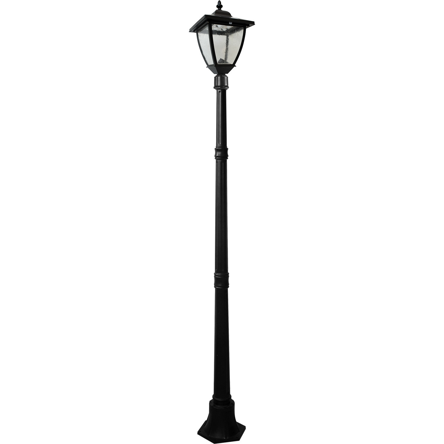 "Bayport 72"" Solar Lamp Post"