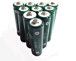 "10 piece of ""AA"" rechargeable 600mAh Ni-MH replacement batteries"