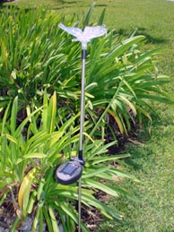 Solar Butterfly Garden Stake Color Change Light set of 2 pcs