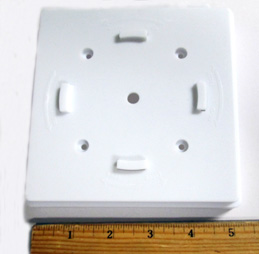 Plastic Adapter For PL247 Converter For PVC 5X5