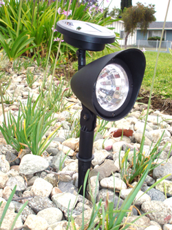 Plastic 3 LED Solar Spot Light SET OF 2 - Corrosion resistant