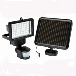 Super Bright 60 LED Garage Sensor Security Solar Light